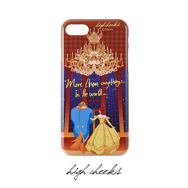 [50% OFF][Disney│highcheeks] Beauty and the Beast Lettering Phone Case