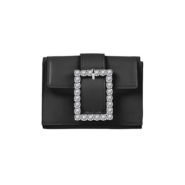 Lady Embellished Wallet_Black