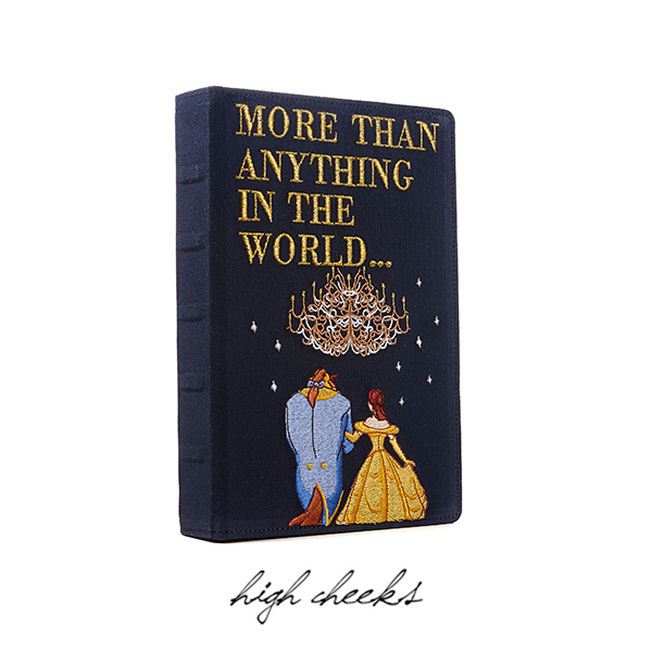 [Disney│highcheeks] Beauty and the Beast Storybook Clutch
