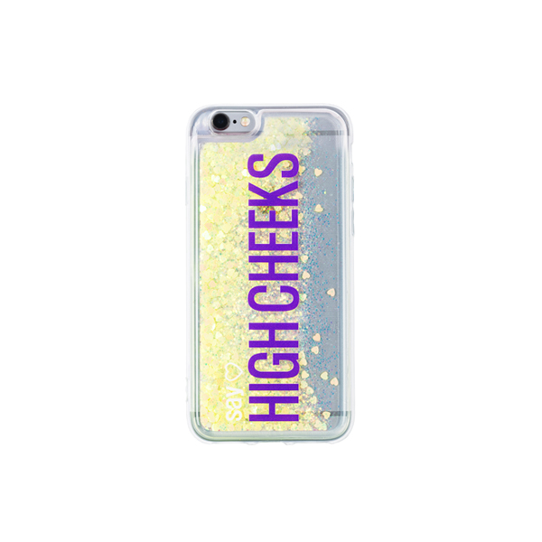 [문구고정]My Name Glitter Phonecase_Lemon