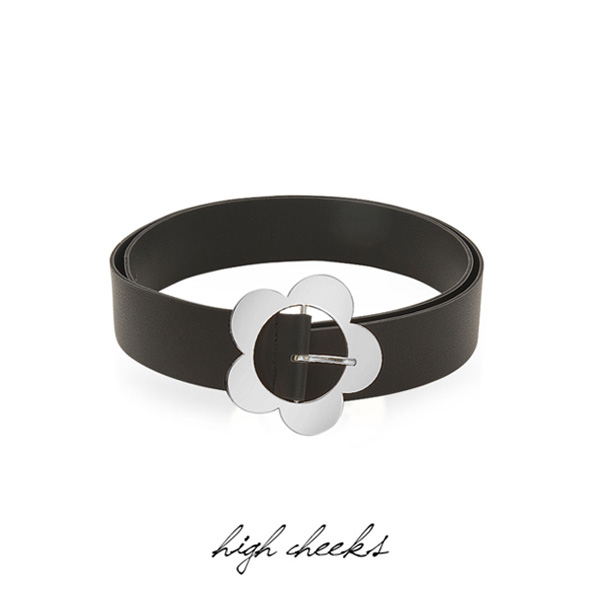 [선미착용]Heyday Flower Buckle Belt