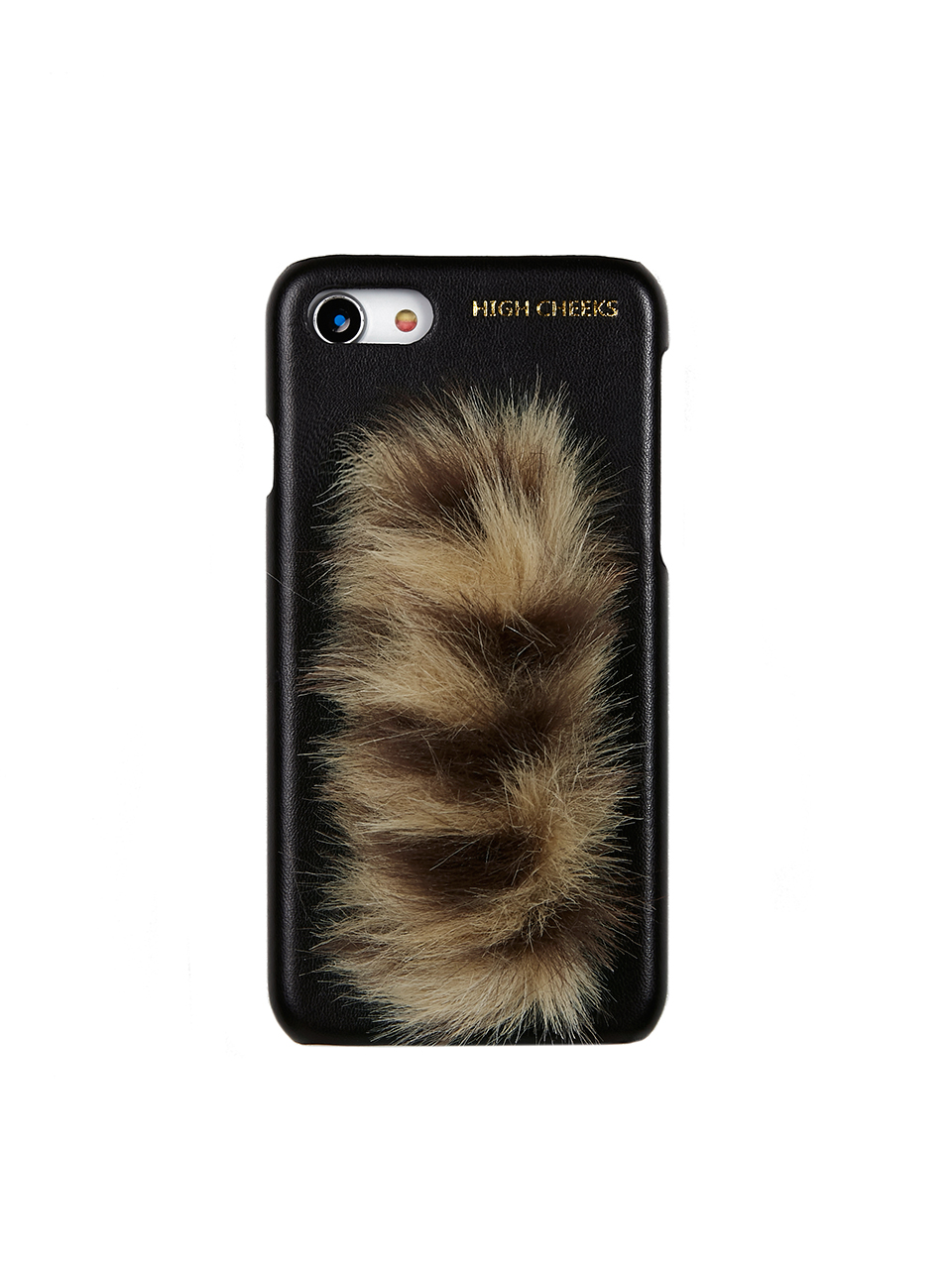[SAMPLE SALE Price]Fur Handle Phonecase_Leopard