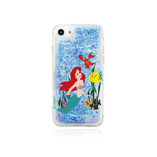 [Disney│highcheeks] Blue Glitter Ariel Phone Case