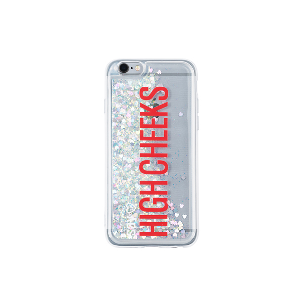 [문구고정]My Name Glitter Phonecase_Silver