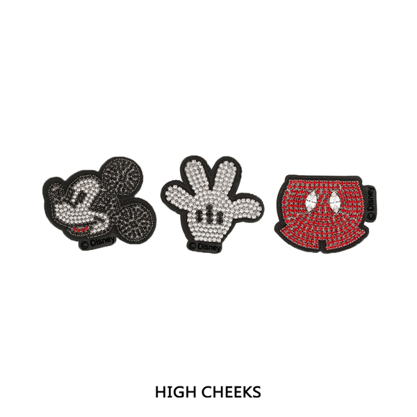 Mickey Embellished Wappen