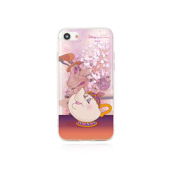 [Disney│highcheeks] Mrs. Potts and Chip Glitter Phone Case