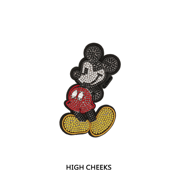 Mickey Embellished Wappen_Whole