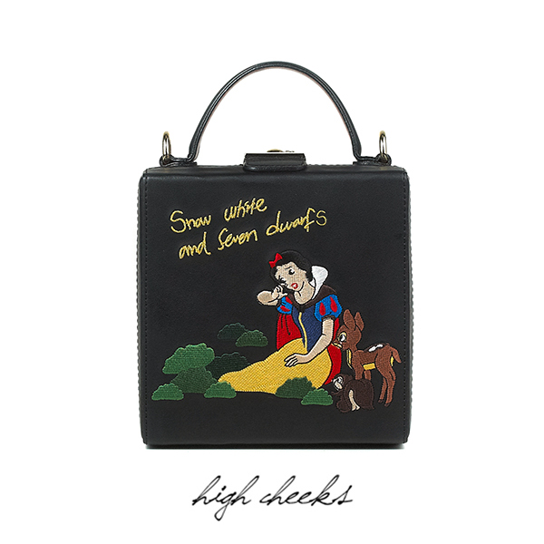 [Disney│highcheeks] Snow White n Seven Dwarf Trunk Bag