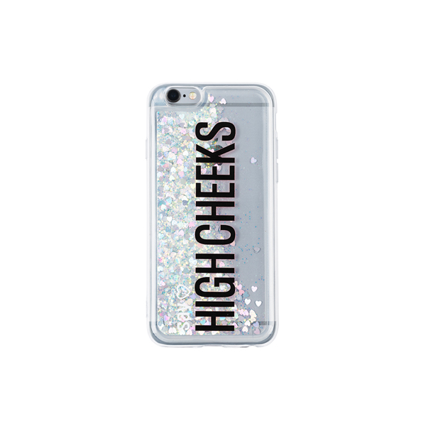 My Name Glitter Phonecase_Silver&Black
