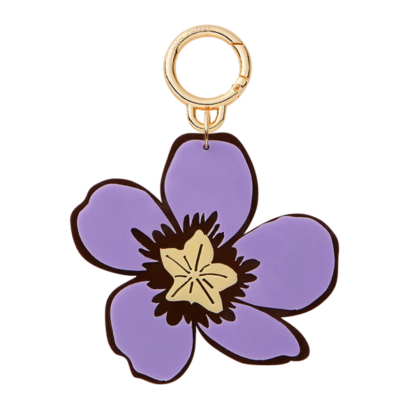 Flower Bag Charm_Pansy