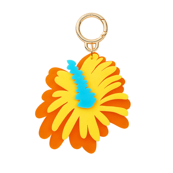 Flower Bag Charm_Hibiscus
