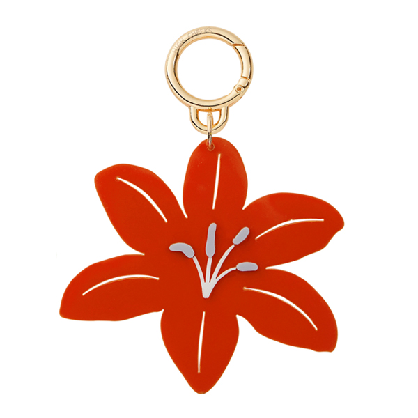 [55%]Flower Bag Charm_Lily