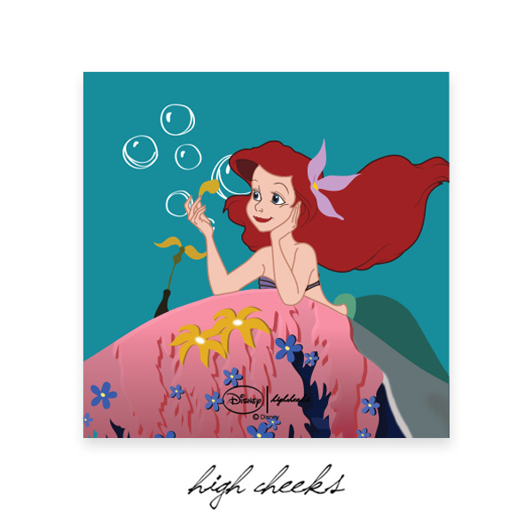[Disney│highcheeks] Under the Sea Ariel Canvas Frame