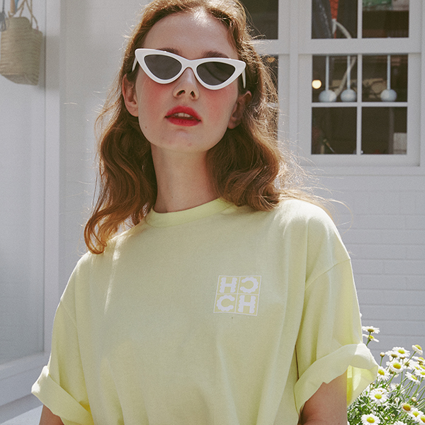 [25%]High Cheeks Cookie Logo T-shirt_Lemon
