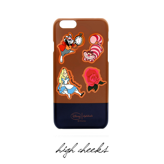 [Disney│high cheeks]Alice Pattern Character Phone Case
