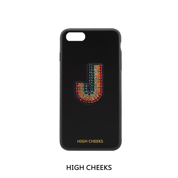 [50%]Initial Embellished Plastic Phone Case_Initial 1
