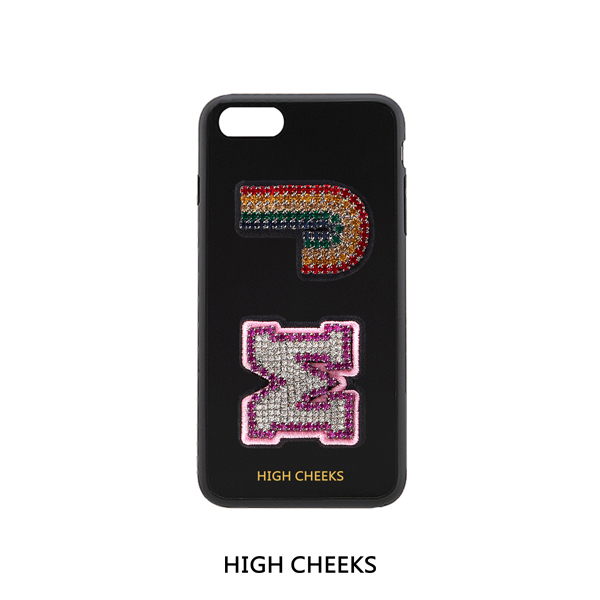 [40%]Initial Embellished Plastic Phone Case_Initial 2